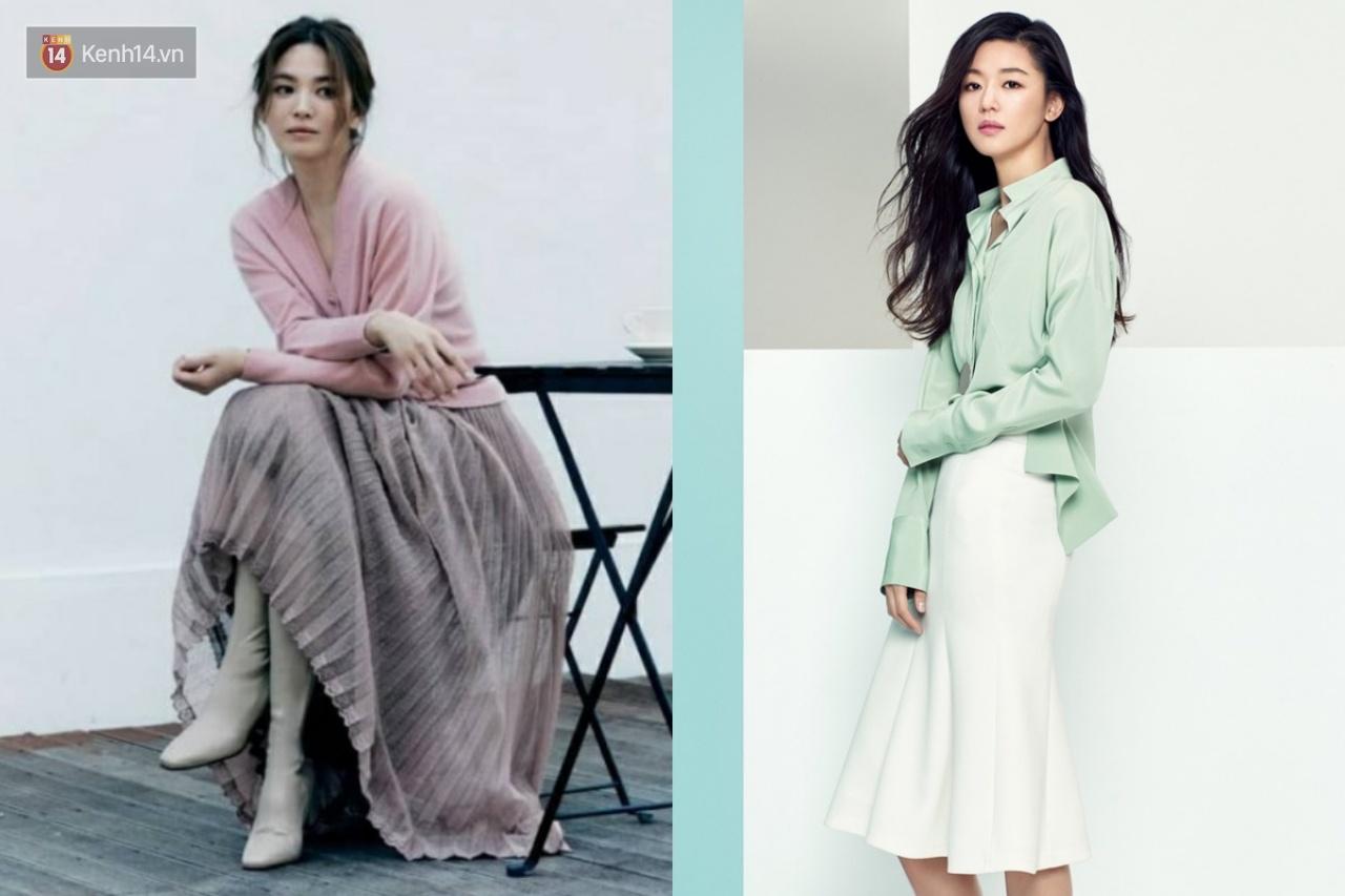 """2 tường thành nhan sắc đối đầu: Song Hye Kyo thoát """"dớp"""" sến nên sang hơn rồi, nhưng liệu có """"cân"""" được mợ chảnh Jeon Ji Hyun? - Ảnh 8."""