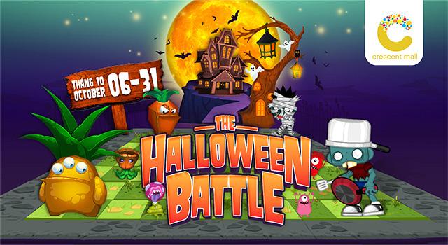 Nhập hội cây hay binh đoàn quái vật cùng so găng mùa Halloween - tháng 10 này tại Crescent Mall - Ảnh 1.