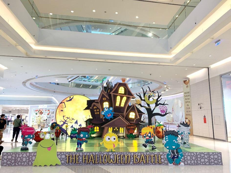 Nhập hội cây hay binh đoàn quái vật cùng so găng mùa Halloween - tháng 10 này tại Crescent Mall - Ảnh 2.