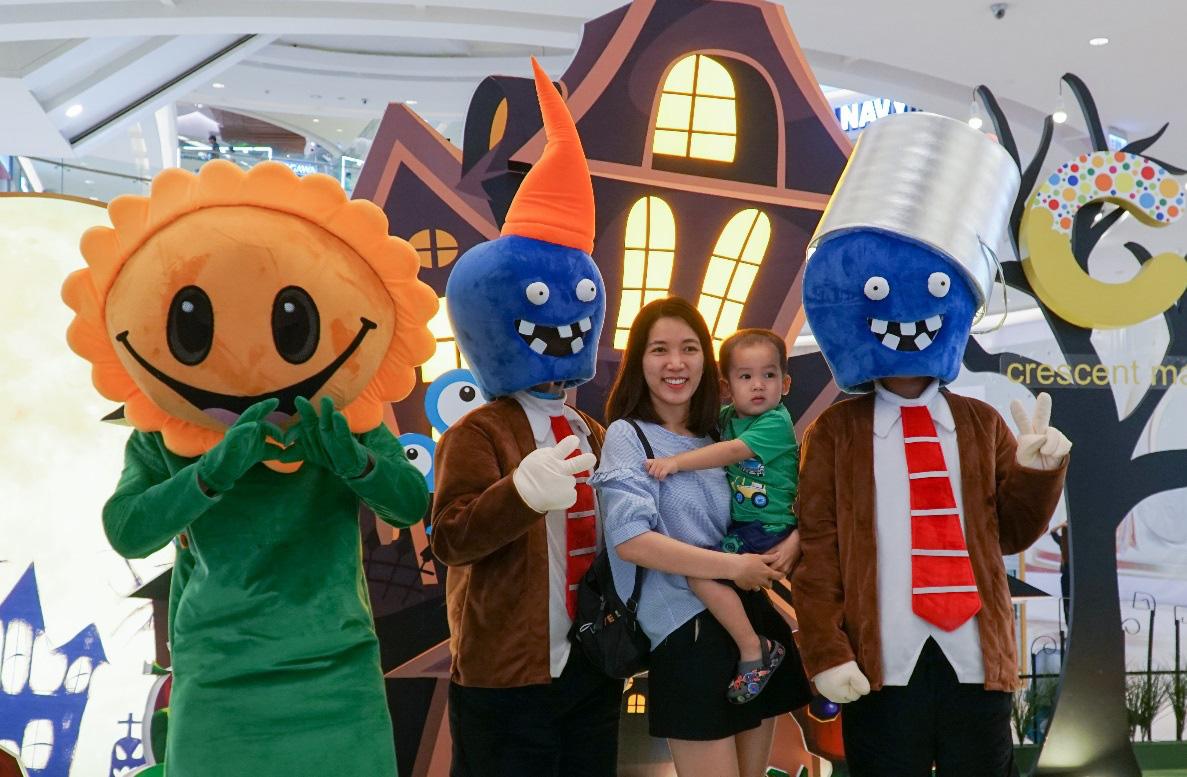 Nhập hội cây hay binh đoàn quái vật cùng so găng mùa Halloween - tháng 10 này tại Crescent Mall - Ảnh 3.