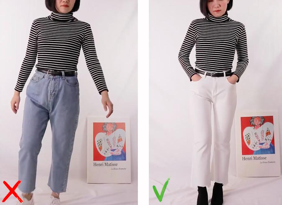 Quần jeans cho nàng đùi to - Ảnh 7.