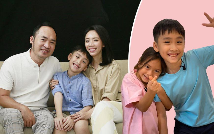 """Con trai Thu Trang - Tiến Luật: Được mẹ dạy dỗ cẩn thận, thường xuyên """"gây bão"""" khi xuất hiện cùng cô em không chung huyết thống này"""