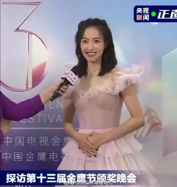 Nữ thần Kim Ưng Tống Thiến cùng chọn thương hiệu váy giống Phạm Băng Băng: Người xinh như tiên tử, người mặc lên nhìn như hàng chợ  - Ảnh 6.