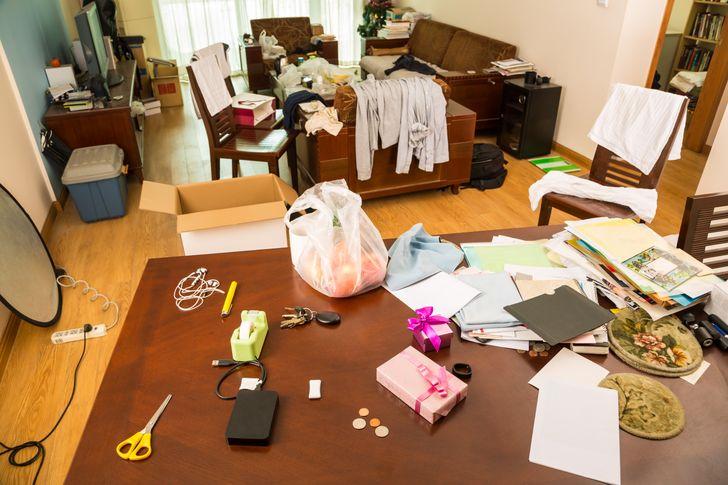 Bí quyết giúp nhà gọn gàng, sạch sẽ chỉ trong vài phút khi khách đến chơi đột xuất - Ảnh 3.