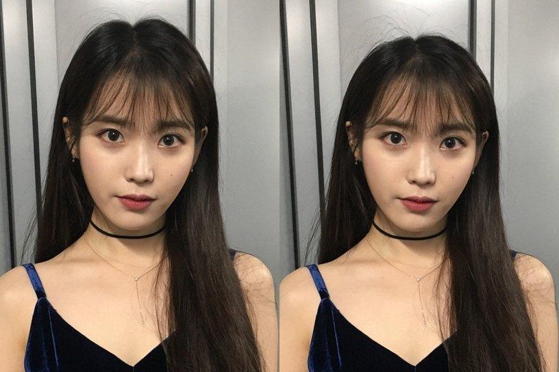 Gái Hàn có chiêu làm tóc biến mặt từ tròn thành thanh thoát mà hay nhất là cực đơn giản và không cần ra tiệm - Ảnh 2.