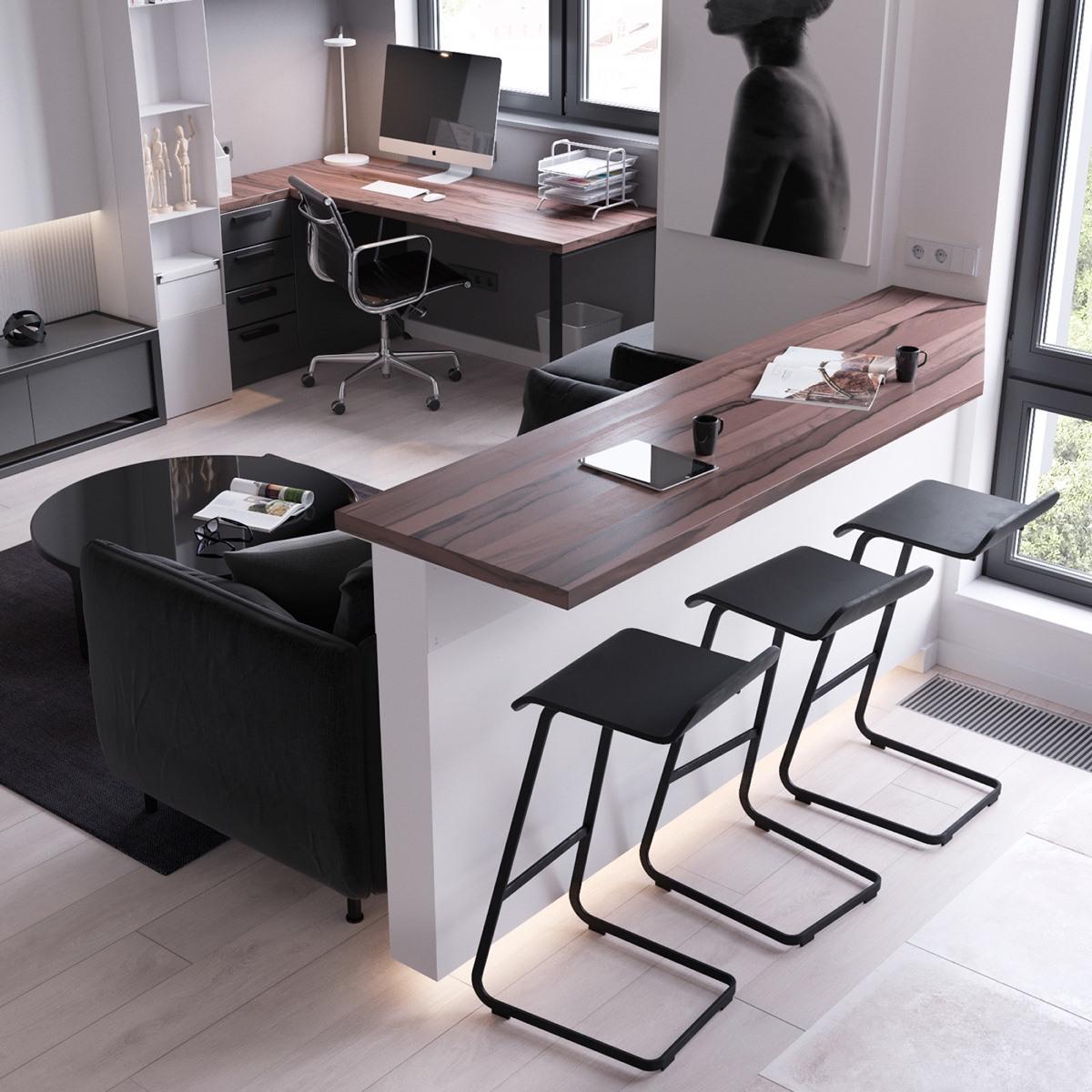 Thích mê 3 căn hộ hiện đại với diện tích khiêm tốn dưới 50m2 - Ảnh 10.