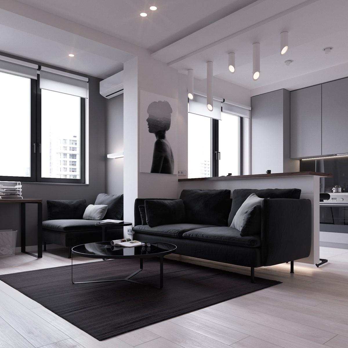 Thích mê 3 căn hộ hiện đại với diện tích khiêm tốn dưới 50m2 - Ảnh 11.