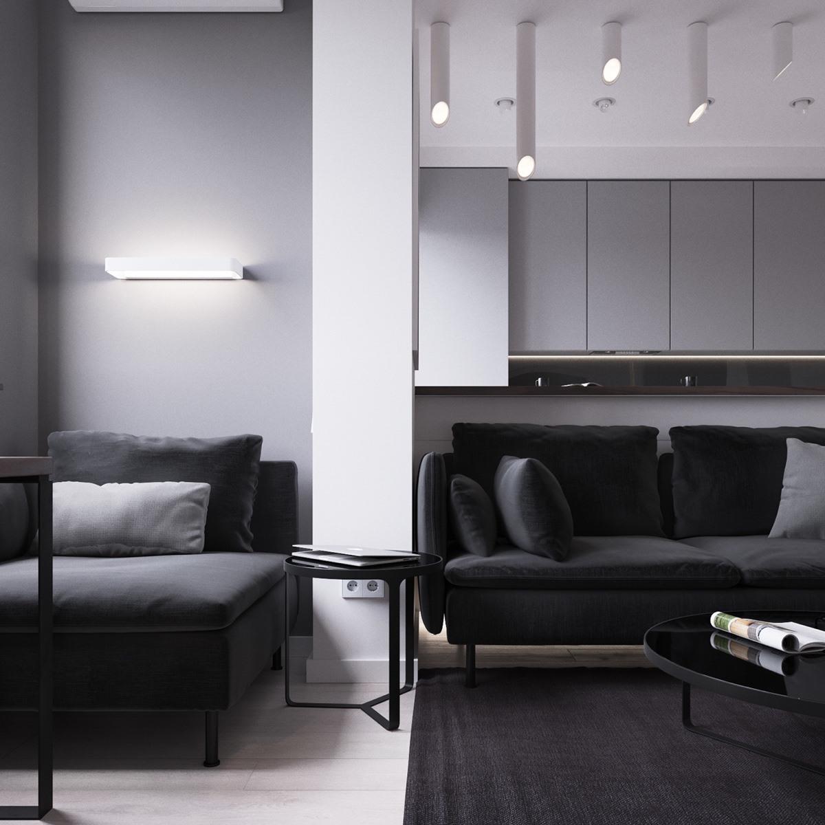 Thích mê 3 căn hộ hiện đại với diện tích khiêm tốn dưới 50m2 - Ảnh 14.