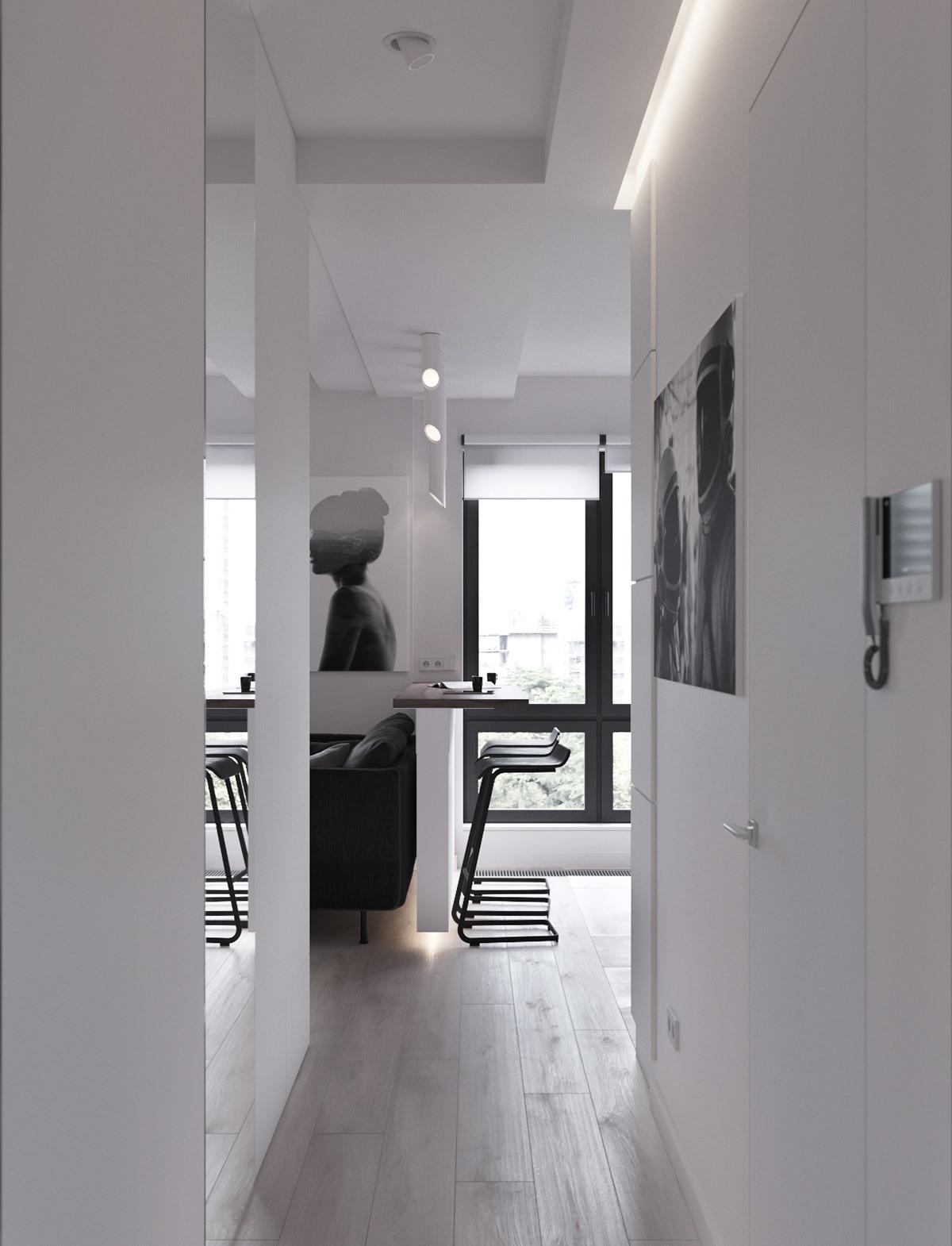 Thích mê 3 căn hộ hiện đại với diện tích khiêm tốn dưới 50m2 - Ảnh 16.