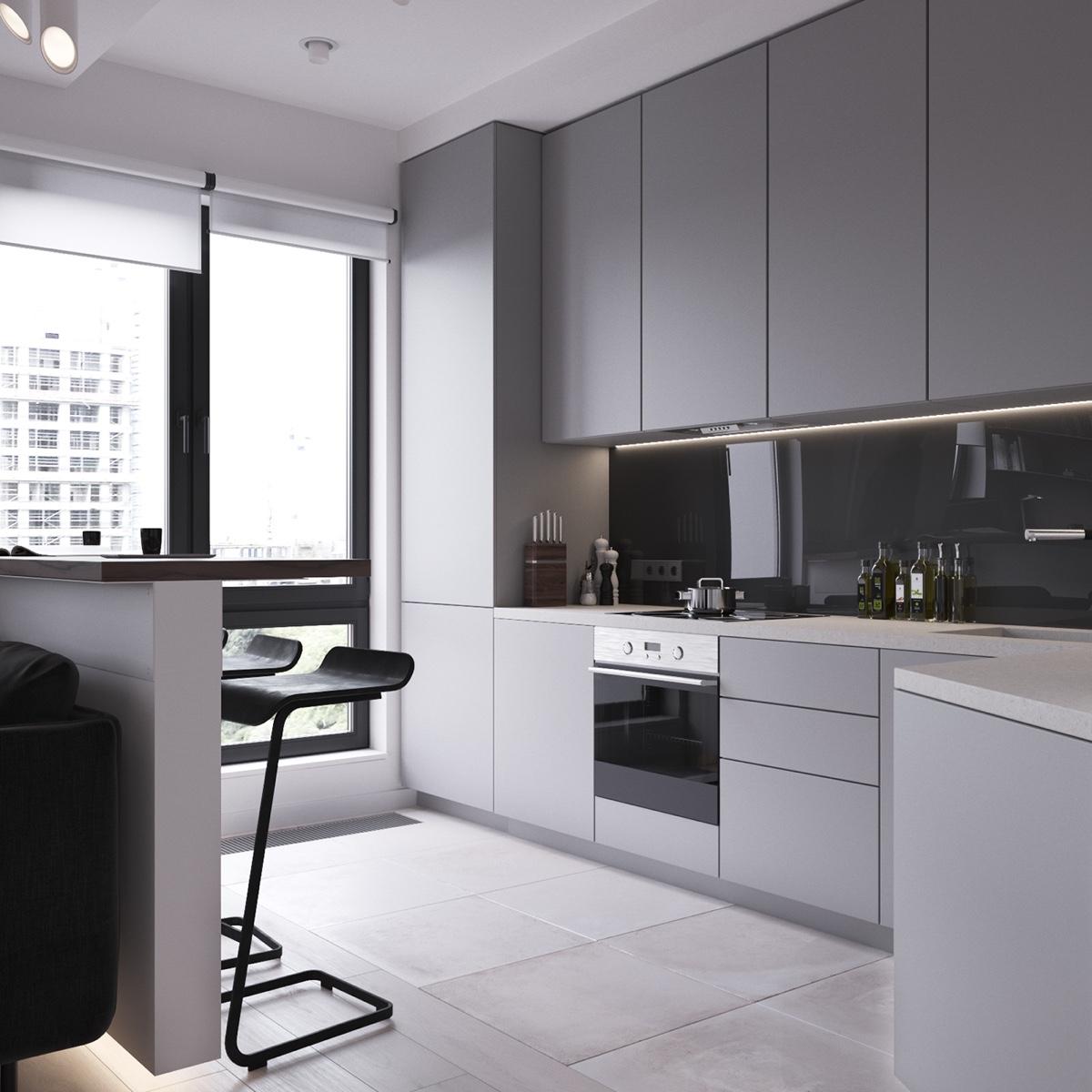 Thích mê 3 căn hộ hiện đại với diện tích khiêm tốn dưới 50m2 - Ảnh 17.