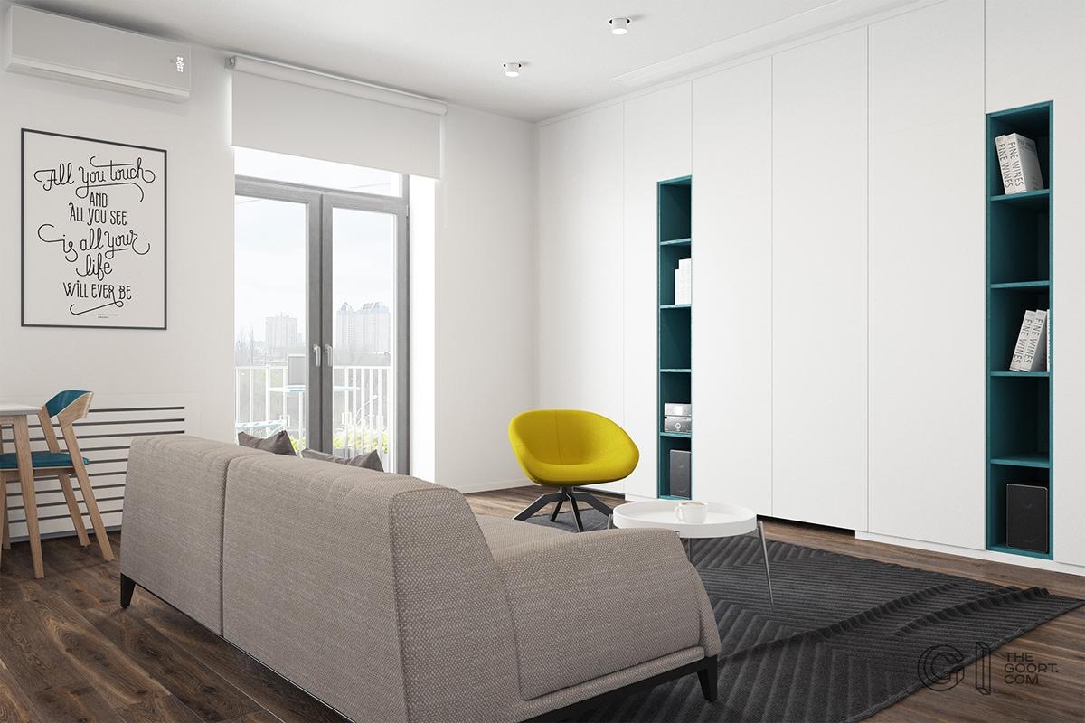 Thích mê 3 căn hộ hiện đại với diện tích khiêm tốn dưới 50m2 - Ảnh 2.