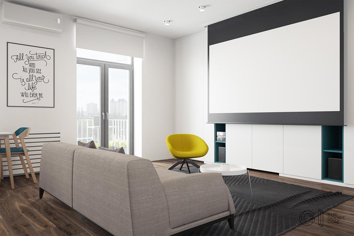Thích mê 3 căn hộ hiện đại với diện tích khiêm tốn dưới 50m2 - Ảnh 3.