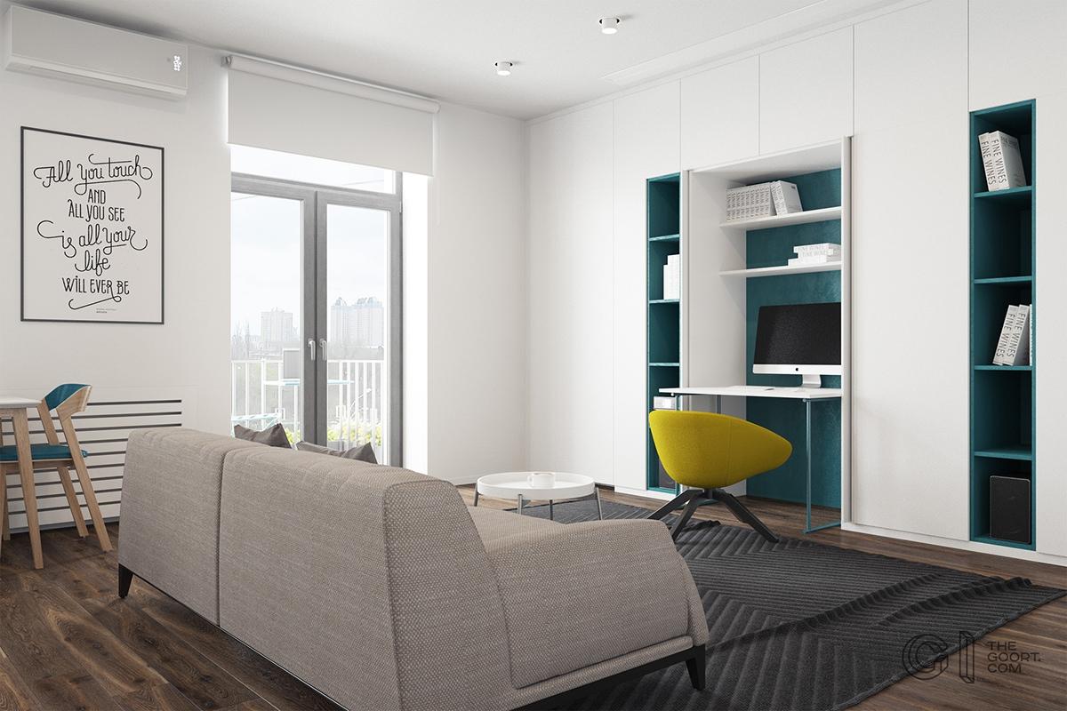 Thích mê 3 căn hộ hiện đại với diện tích khiêm tốn dưới 50m2 - Ảnh 4.