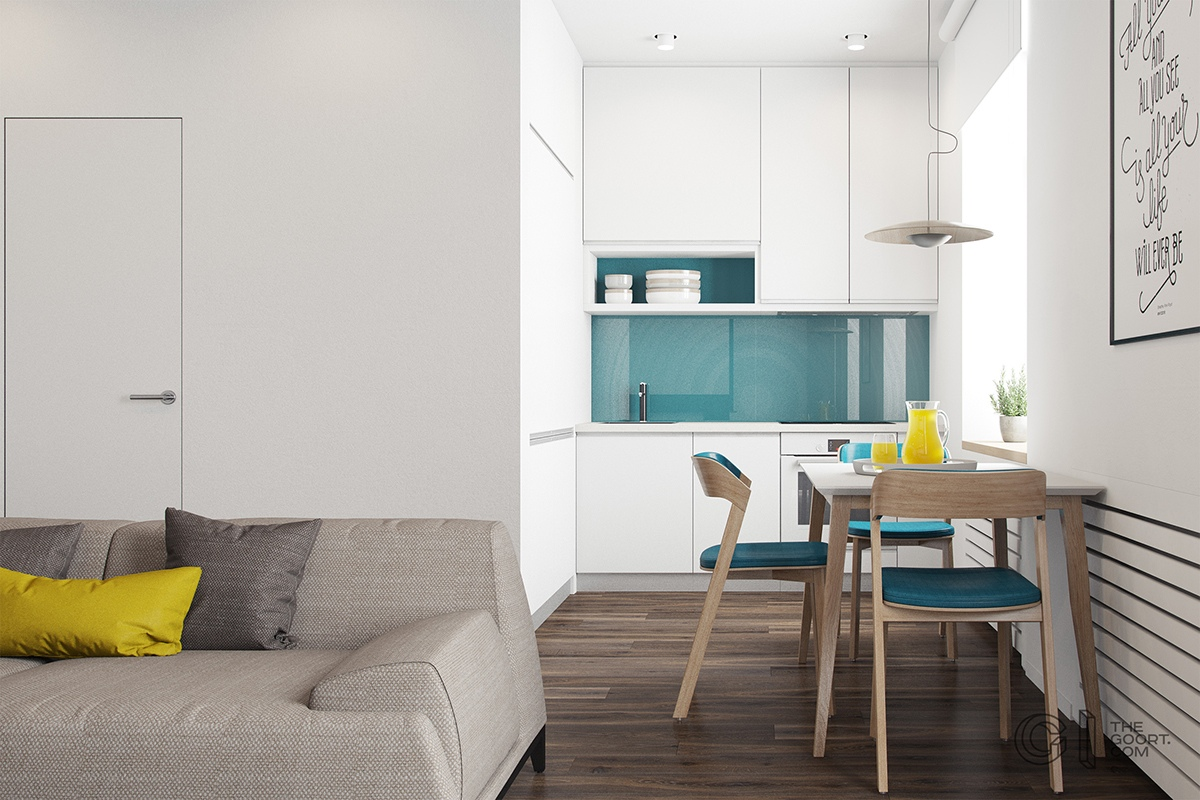Thích mê 3 căn hộ hiện đại với diện tích khiêm tốn dưới 50m2 - Ảnh 5.
