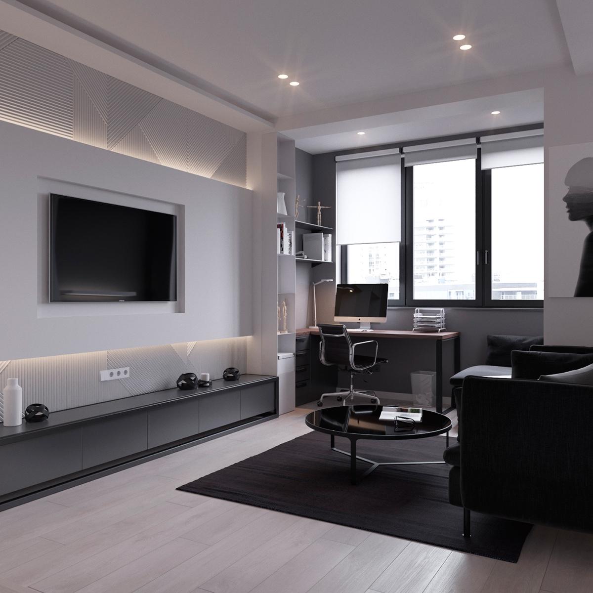 Thích mê 3 căn hộ hiện đại với diện tích khiêm tốn dưới 50m2 - Ảnh 8.
