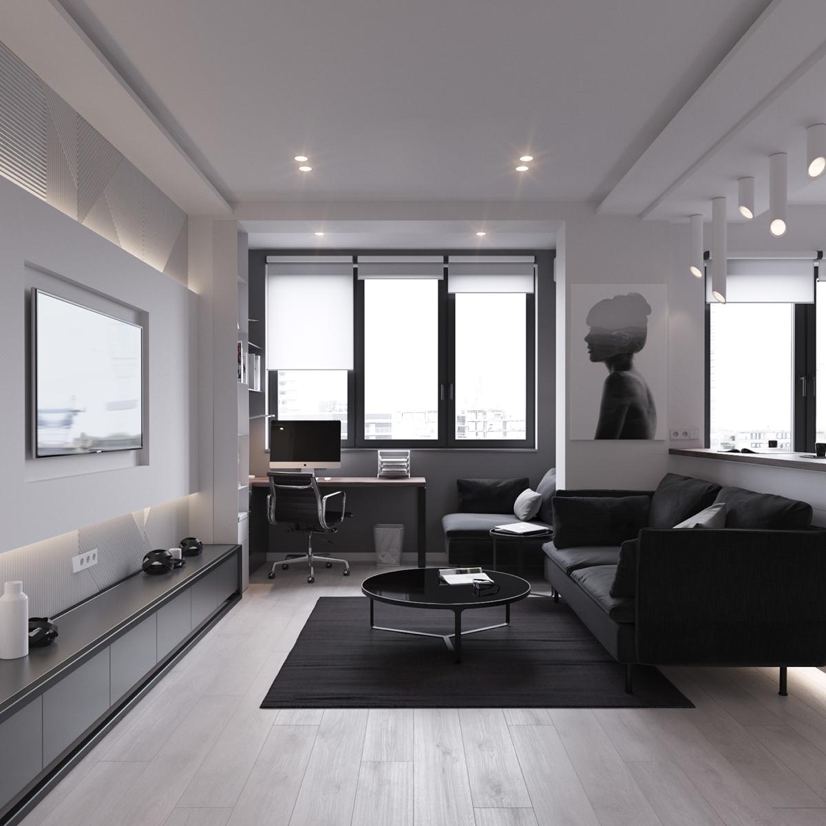 Thích mê 3 căn hộ hiện đại với diện tích khiêm tốn dưới 50m2 - Ảnh 9.