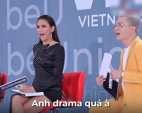 """Vietnam's Next Top Model: Gọi Mâu Thủy, Võ Hoàng Yến chia phe phái, Nam Trung bị phản bác """"anh đừng ỷ lớn mà muốn nói gì thì nói"""" - Ảnh 3."""