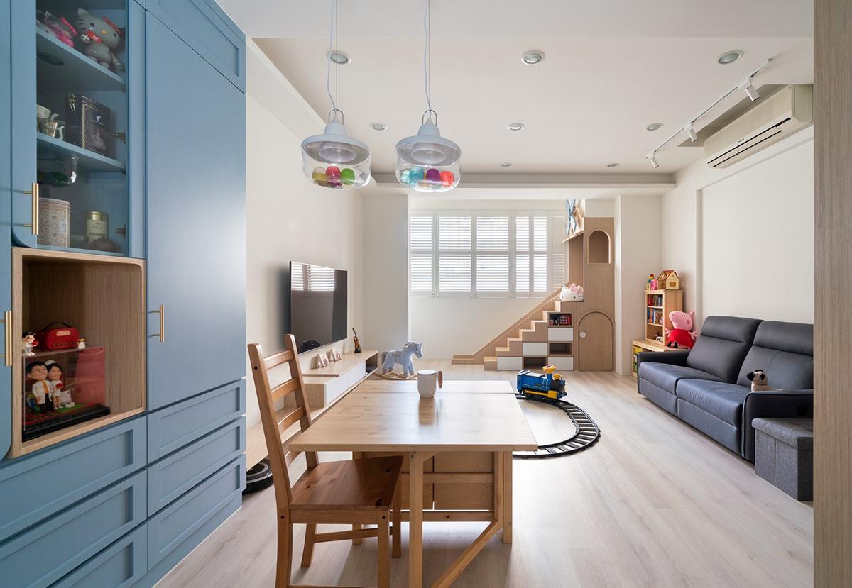Ngôi nhà 30m² được cải tạo thành không gian hạnh phúc cho vợ chồng trẻ và con gái thỏa sức vui chơi - Ảnh 11.
