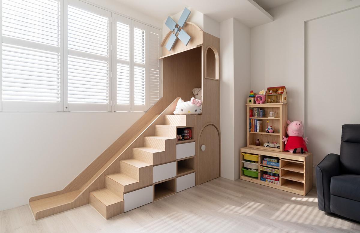 Ngôi nhà 30m² được cải tạo thành không gian hạnh phúc cho vợ chồng trẻ và con gái thỏa sức vui chơi - Ảnh 8.