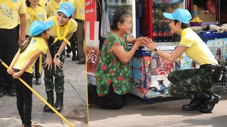Hoàng quý phi Thái Lan gây sốt cộng đồng mạng nhờ một chi tiết thể hiện sự duyên dáng, phong thái đầy chuẩn mực hiếm ai có được - Ảnh 5.