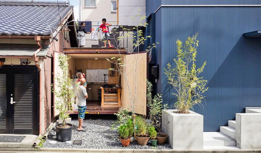 """Căn nhà phố nhỏ xinh ở Nhật Bản được mệnh danh là """"thiên đường của sự tối giản"""" - Ảnh 2."""