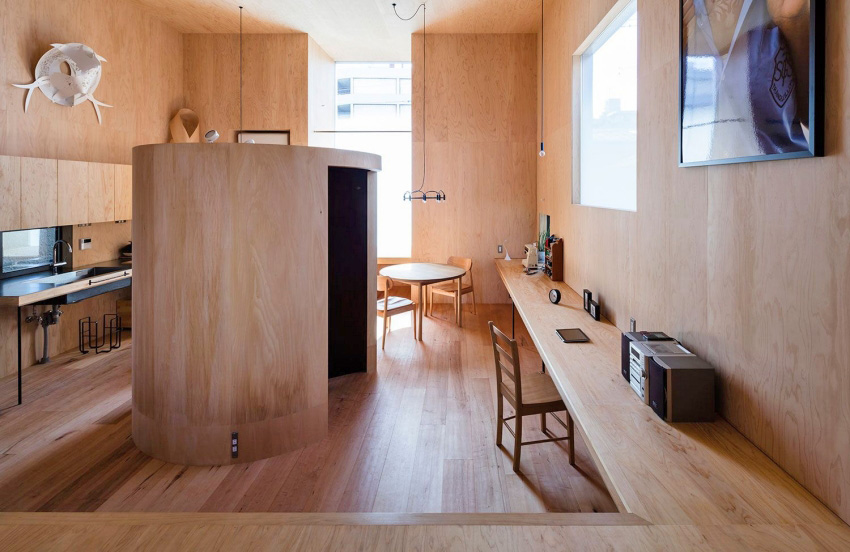 """Căn nhà phố nhỏ xinh ở Nhật Bản được mệnh danh là """"thiên đường của sự tối giản"""" - Ảnh 4."""