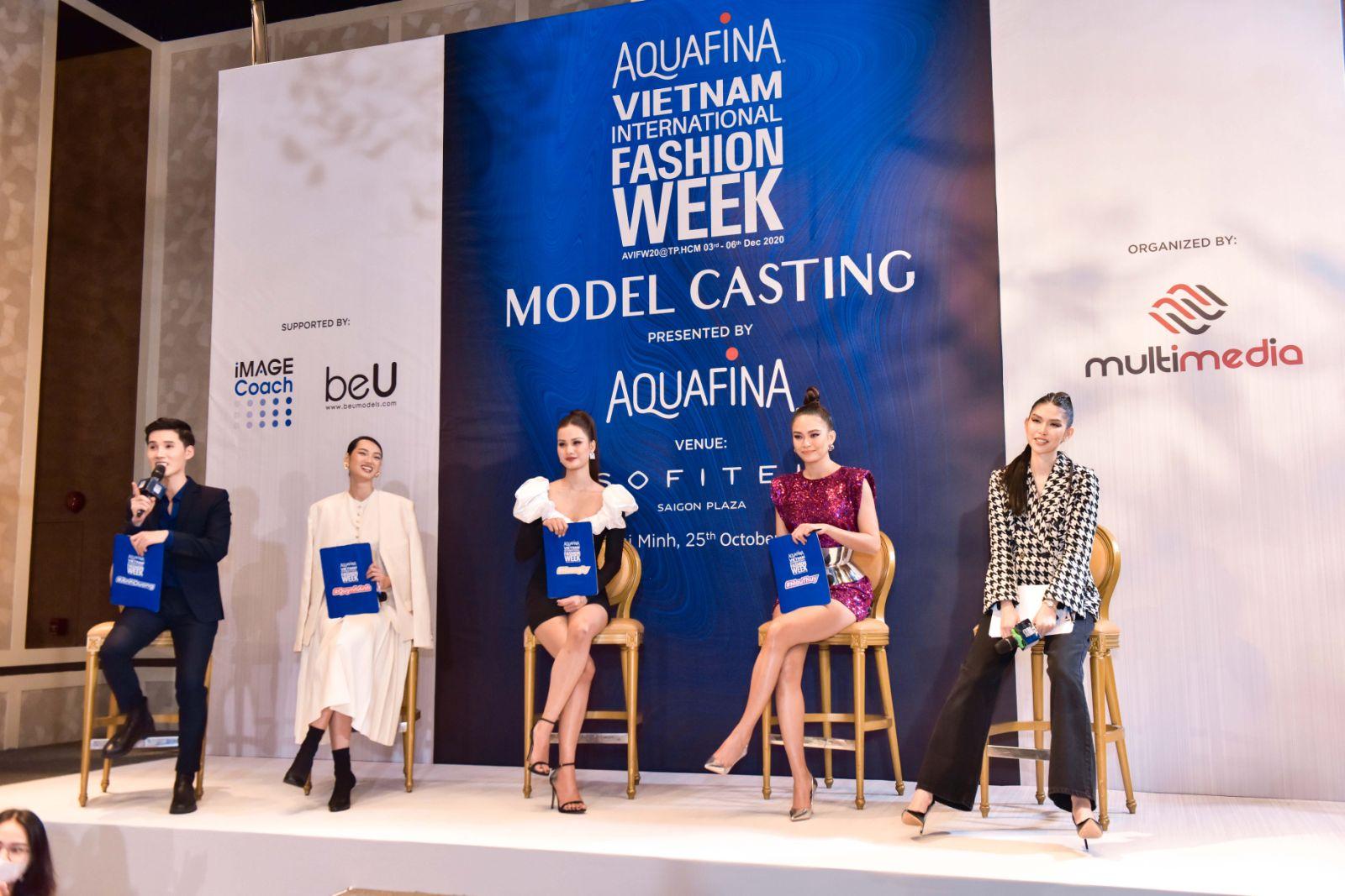 Đôi chân của Mâu Thủy chiếm chọn spotlight, lấn át cả quán quân Next Top Hương Ly tại buổi casting Tuần lễ thời trang Việt Nam 2020 - Ảnh 7.