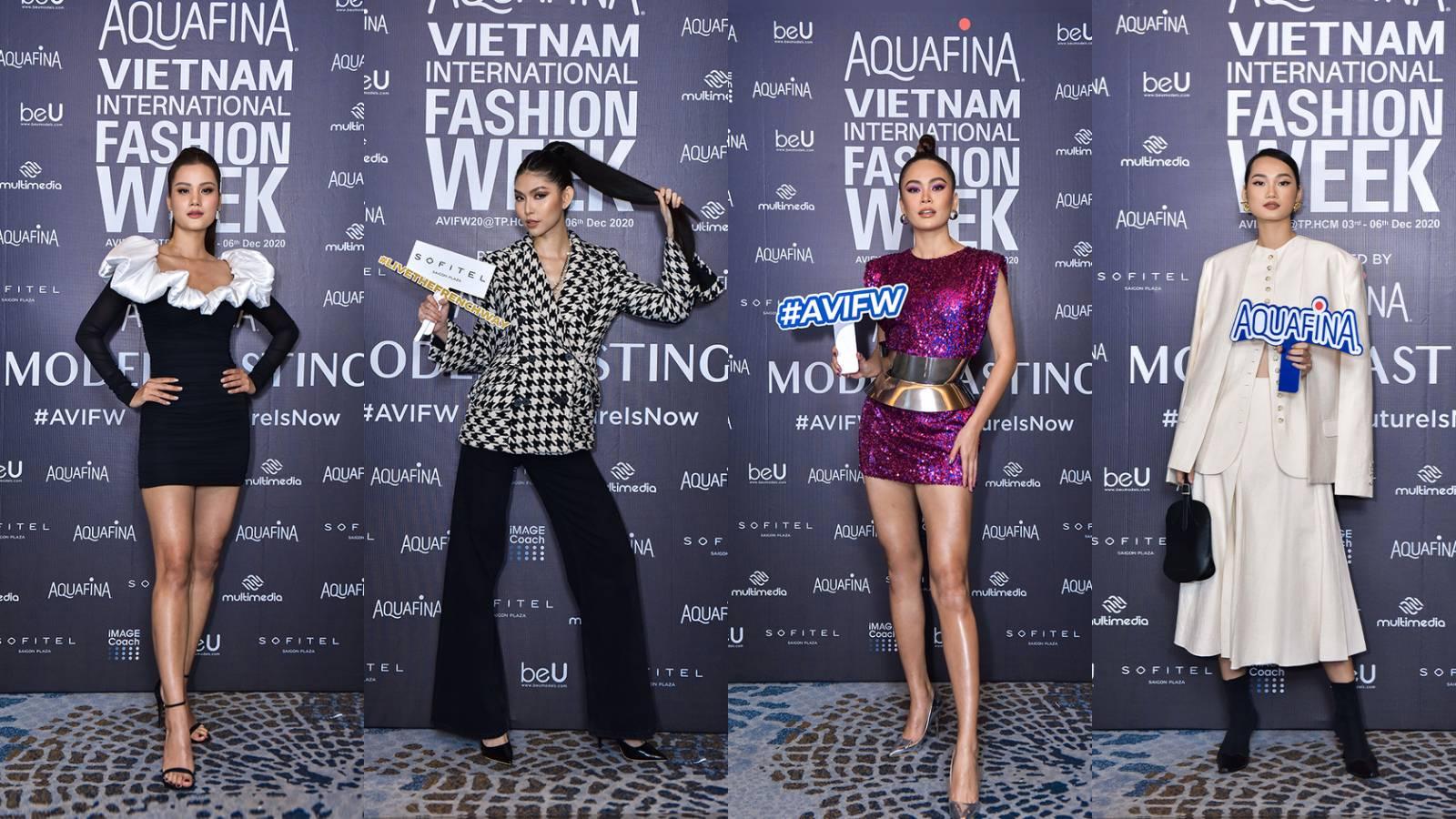 Đôi chân của Mâu Thủy chiếm chọn spotlight, lấn át cả quán quân Next Top Hương Ly tại buổi casting Tuần lễ thời trang Việt Nam 2020 - Ảnh 1.