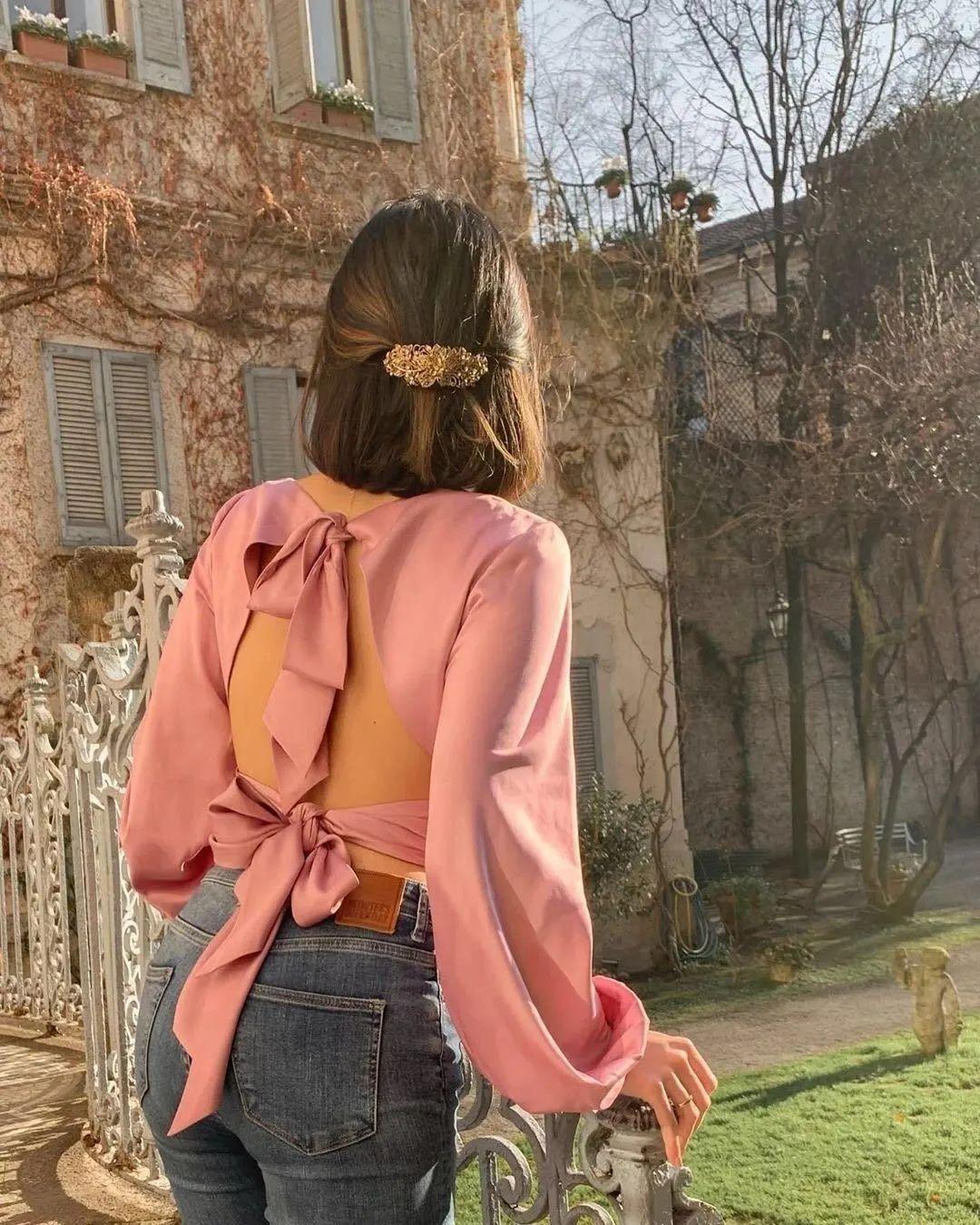 Áo blouse + quần jeans: Combo giúp nàng công sở trông sang như gái Pháp trong ngày Thu - Ảnh 15.