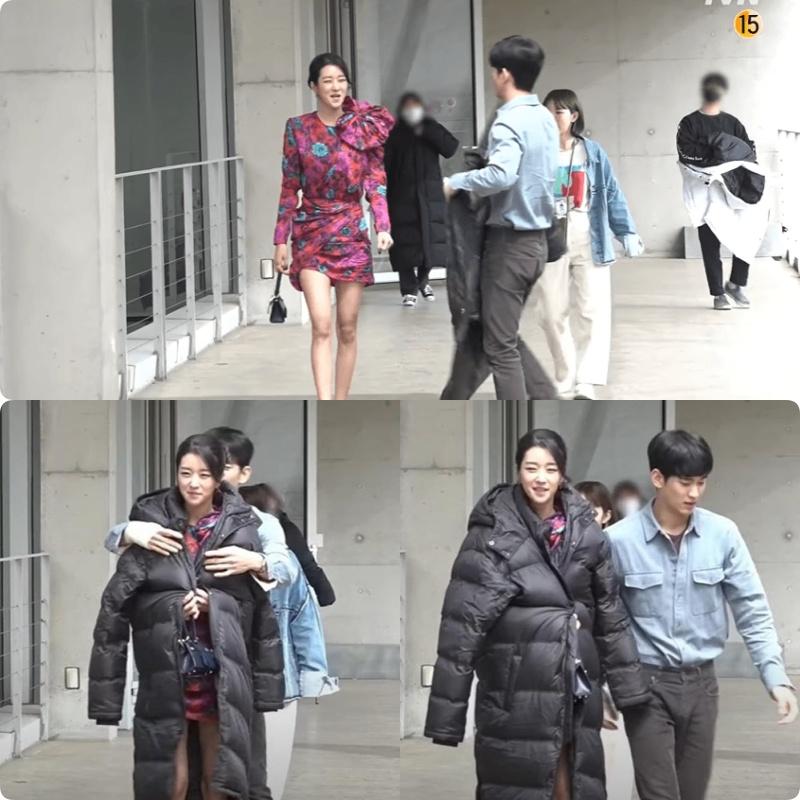 """Sợ Seo Ye Ji khoe ngực khủng rồi cảm lạnh, dân tình có luôn loạt ảnh chế """"kín bưng"""" cho nàng, gió mùa về rồi nàng """"điên nữ"""" ơi! - Ảnh 5."""