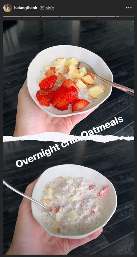 Để ý mới thấy Tăng Thanh Hà ăn sáng rất khác biệt: Không phải xôi cháo, bún phở mà là 6 loại quả ngon lành này, chả trách làm mẹ 2 con mà vẫn xinh đẹp, khỏe khoắn! - Ảnh 6.