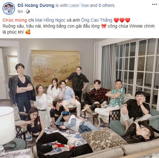 """Ông Cao Thắng thông báo bà xã hạ sinh con gái đầu lòng nặng 3.06kg, loạt sao Việt """"rần rần"""" vào chúc mừng - Ảnh 5."""