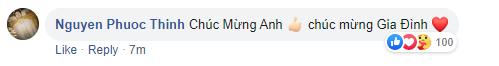 """Ông Cao Thắng thông báo bà xã hạ sinh con gái đầu lòng nặng 3.06kg, loạt sao Việt """"rần rần"""" vào chúc mừng - Ảnh 4."""