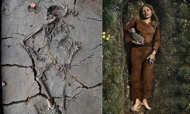 Phát hiện ngôi mộ trẻ em ngàn năm tuổi, các nhà khoa học sững sỡ khi thấy hình ảnh này - Ảnh 2.