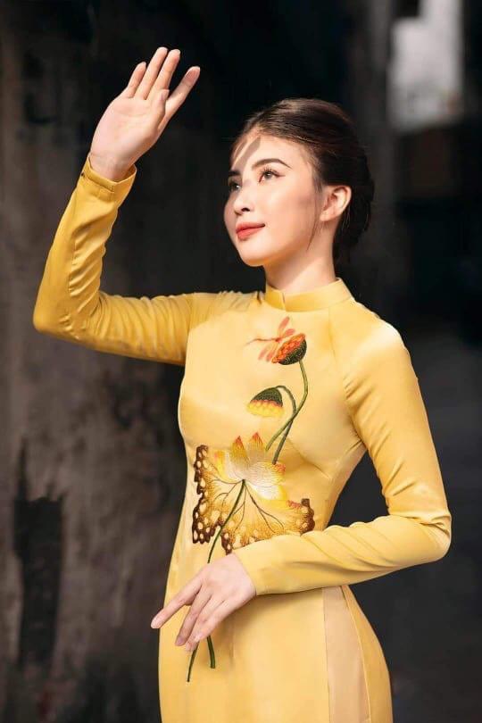 Thương hiệu thời trang áo dài Minh Khang niềm tự hào của phái đẹp Việt - Ảnh 2.