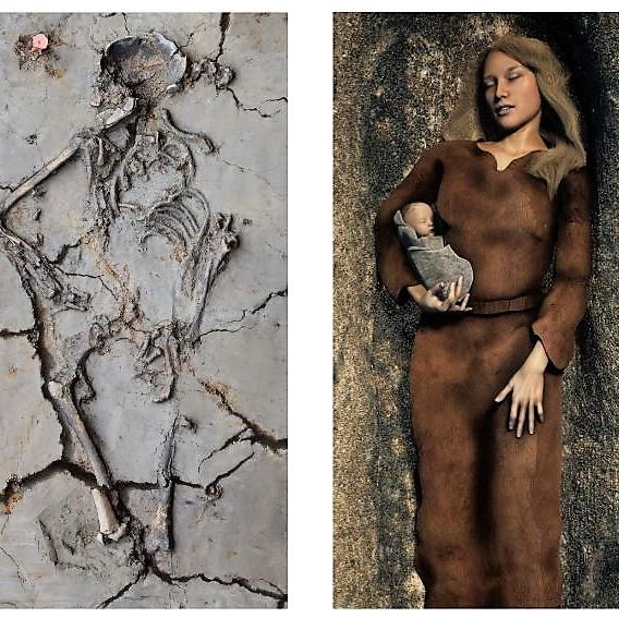 Phát hiện ngôi mộ 6.000 tuổi, các nhà khoa học kinh ngạc khi thấy cảnh tượng chưa từng thấy, hé lộ sự thật về trẻ sơ sinh ngàn đời trước - Ảnh 2.