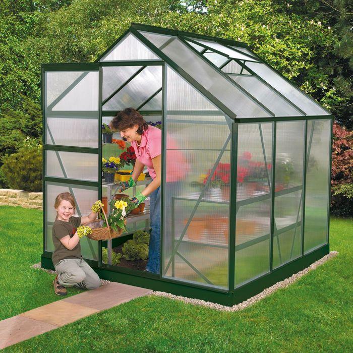 Ý tưởng dựng nhà kính trồng rau trong vườn, vừa có rau ăn vừa trang trí vườn đẹp như cổ tích - Ảnh 7.