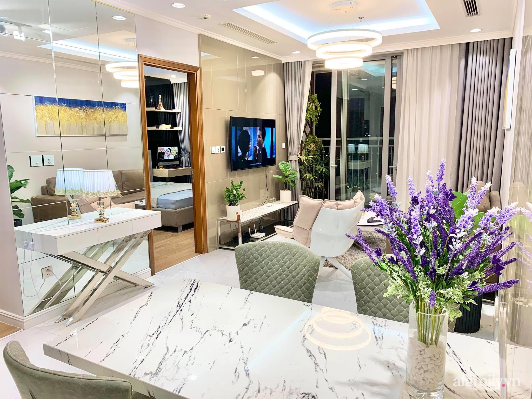 Căn hộ 79m² view trọn Hà Nội được chàng trai độc thân tự tay chọn đồ với chi phí 330 triệu đồng - Ảnh 12.
