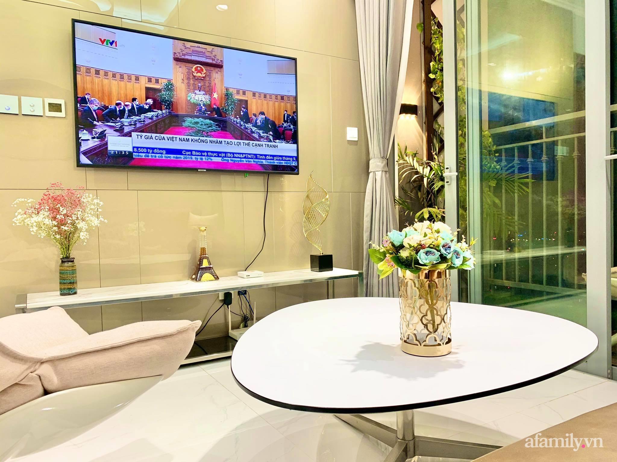 Căn hộ 79m² view trọn Hà Nội được chàng trai độc thân tự tay chọn đồ với chi phí 330 triệu đồng - Ảnh 8.