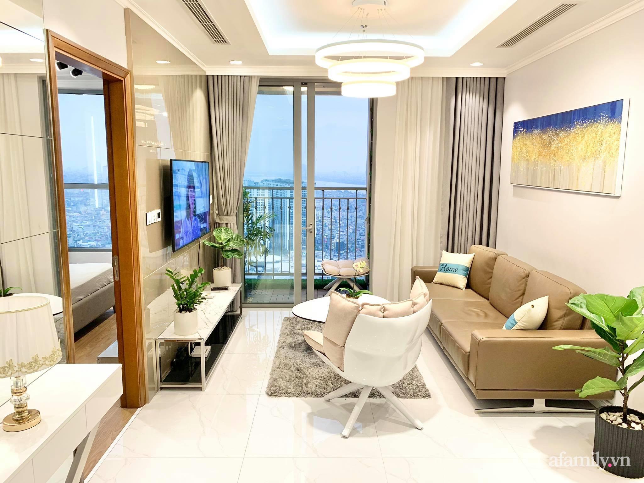 Căn hộ 79m² view trọn Hà Nội được chàng trai độc thân tự tay chọn đồ với chi phí 330 triệu đồng - Ảnh 6.