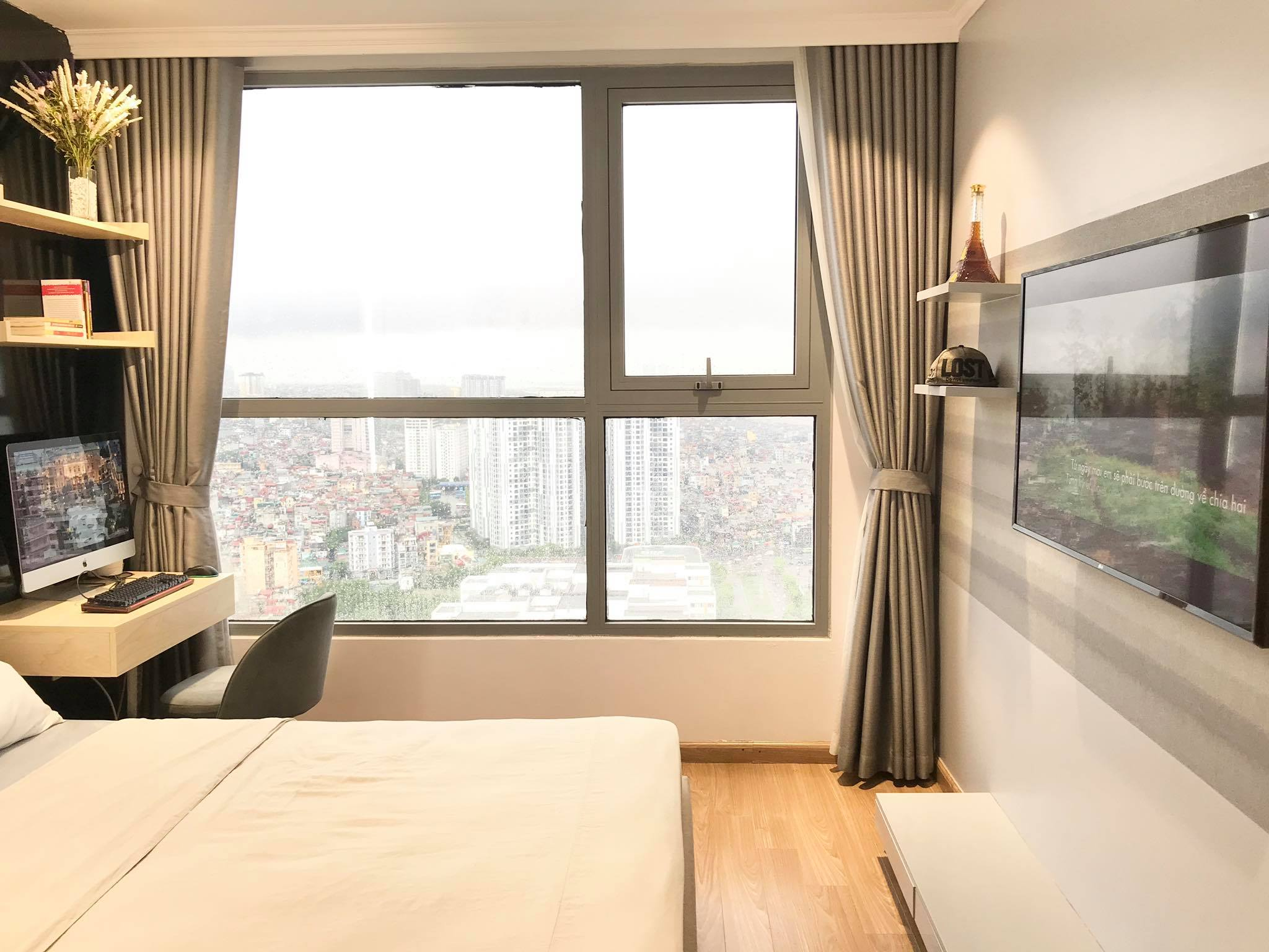 Căn hộ 79m² view trọn Hà Nội được chàng trai độc thân tự tay chọn đồ với chi phí 330 triệu đồng - Ảnh 16.