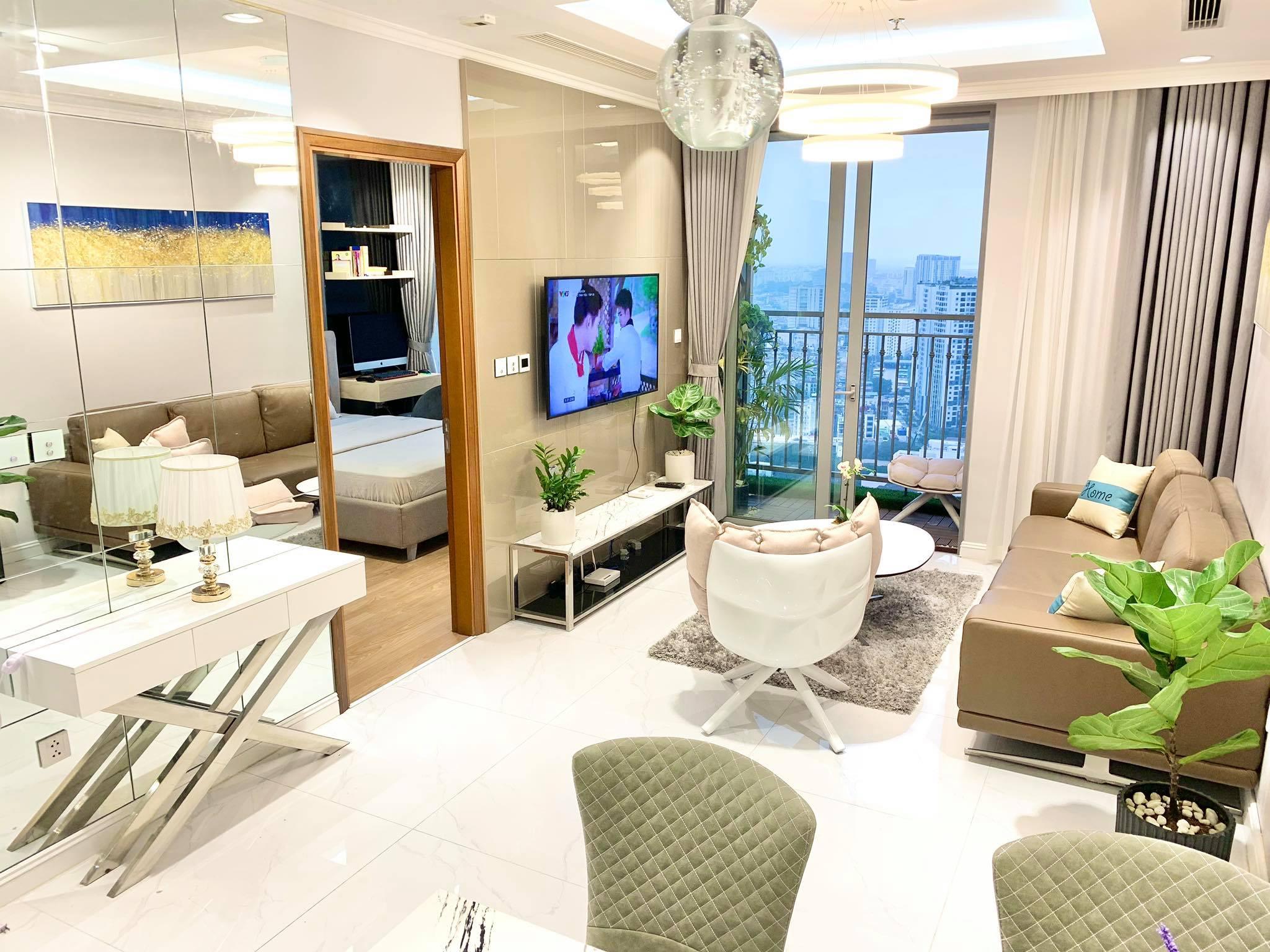 Căn hộ 79m² view trọn Hà Nội được chàng trai độc thân tự tay chọn đồ với chi phí 330 triệu đồng - Ảnh 2.