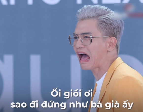 """Vietnam's Next Top Model: Lộ diện hotgirl """"mắt biếc"""" nhưng đi catwalk như bà già khiến Nam Trung điên người chê bai """"ghê quá"""" - Ảnh 4."""