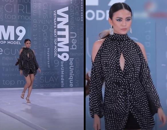"""Vietnam's Next Top Model: Lộ diện hotgirl """"mắt biếc"""" nhưng đi catwalk như bà già khiến Nam Trung điên người chê bai """"ghê quá"""" - Ảnh 5."""