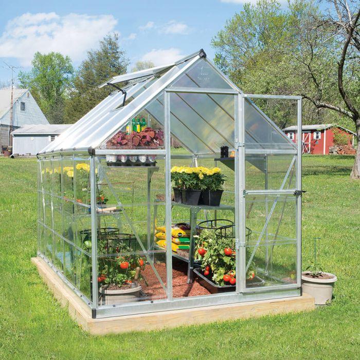 Ý tưởng dựng nhà kính trồng rau trong vườn, vừa có rau ăn vừa trang trí vườn đẹp như cổ tích - Ảnh 6.