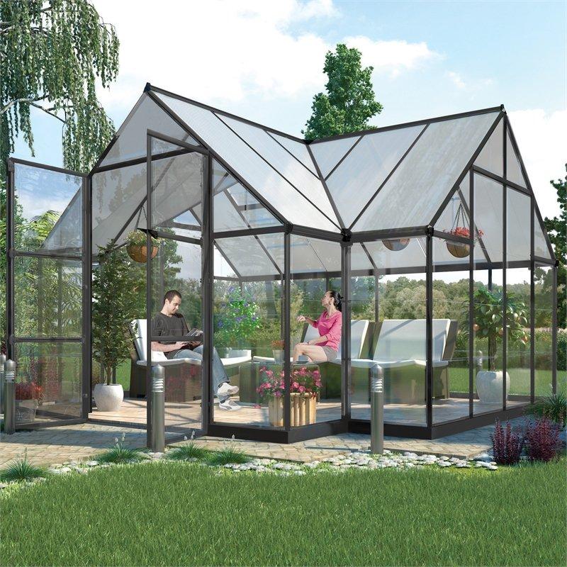 Ý tưởng dựng nhà kính trồng rau trong vườn, vừa có rau ăn vừa trang trí vườn đẹp như cổ tích - Ảnh 8.