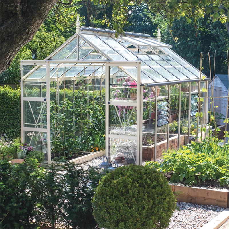 Ý tưởng dựng nhà kính trồng rau trong vườn, vừa có rau ăn vừa trang trí vườn đẹp như cổ tích - Ảnh 4.