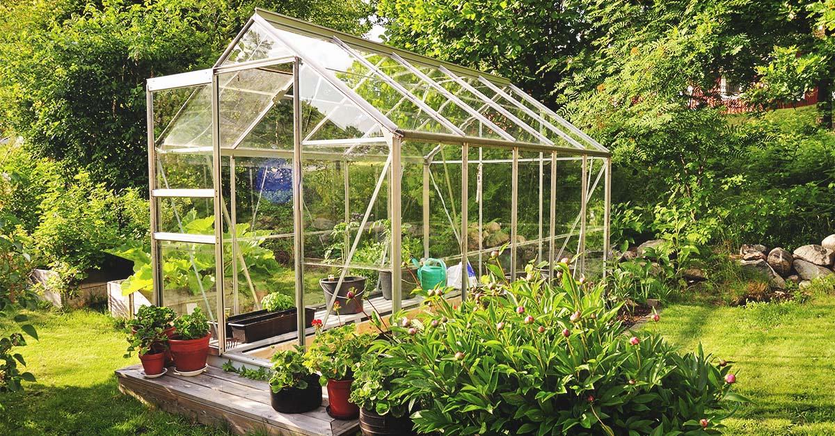 Ý tưởng dựng nhà kính trồng rau trong vườn, vừa có rau ăn vừa trang trí vườn đẹp như cổ tích - Ảnh 11.