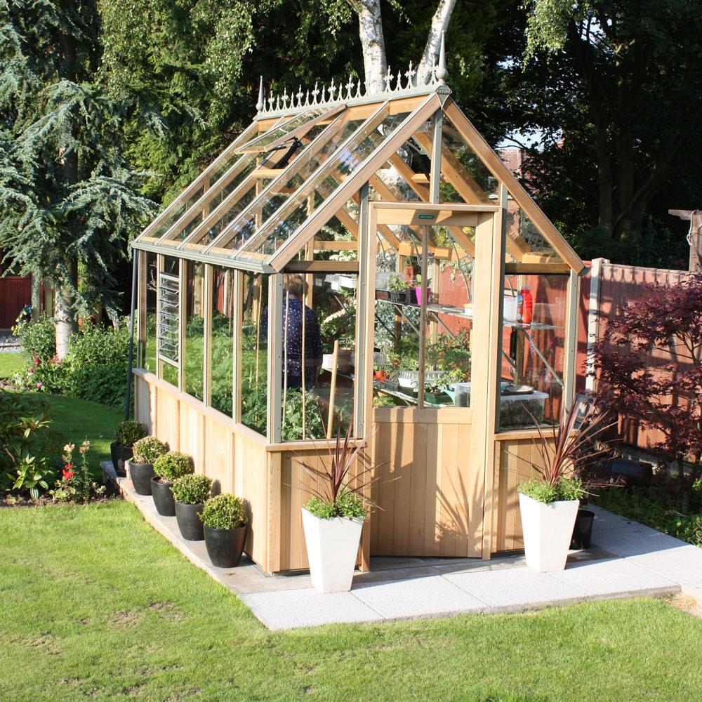 Ý tưởng dựng nhà kính trồng rau trong vườn, vừa có rau ăn vừa trang trí vườn đẹp như cổ tích - Ảnh 14.
