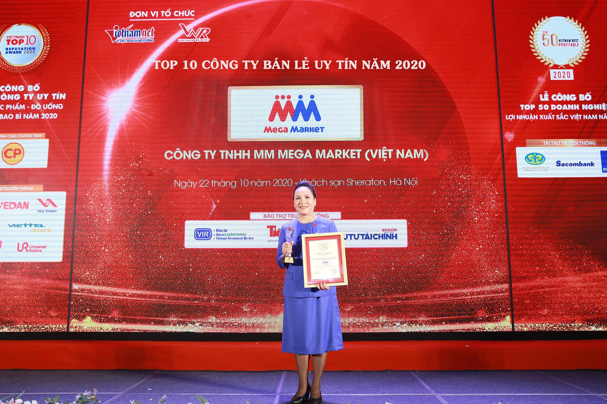 MM Mega Market giành vị trí thứ 3 trong top 10 Công ty bán lẻ uy tín - Ảnh 1.